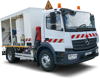 ERYX Road marking truck